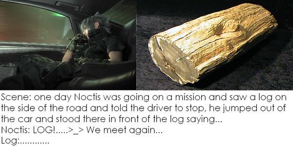 Noctis V.S. Log by Zangoosie