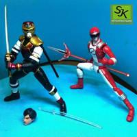 custom shf ninja jiraiya toha by sjk