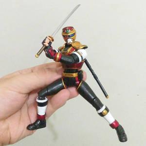 custom figure Shf jiraiya with broken visor