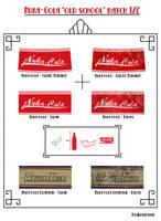 Nuka-Cola old school batch pt1 by Whatpayne