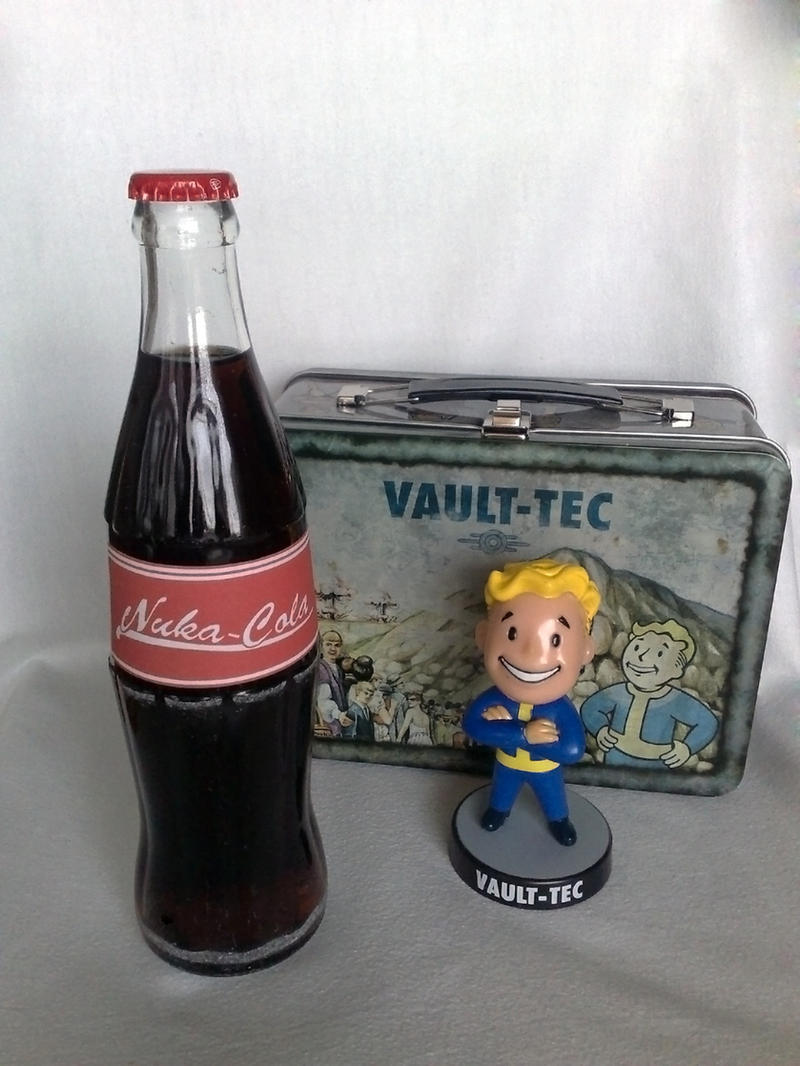 Nuka-Cola 'old school' by Whatpayne