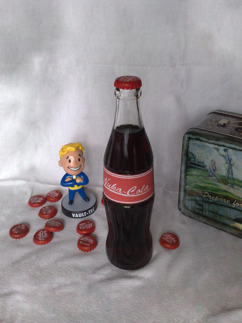 Nuka-Cola 'Old', with caps. by Whatpayne