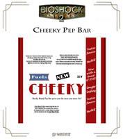 Cheeky Brand Pep Bar Label by Whatpayne