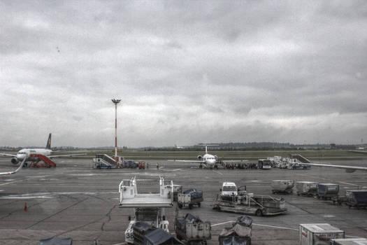 Helsinki Vantaa airport - HDR