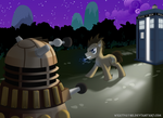 Dr Whooves and the Dalek
