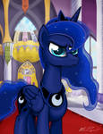 Mischievous Luna
