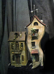 Surreal houses by kol-basa