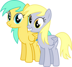 Derpy friends forever