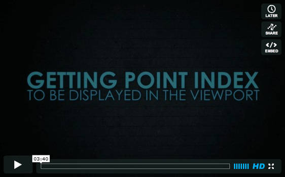 Point Index In Viewport by Sataneev