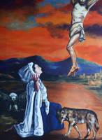 The Magdalene Penitent. by vinny53