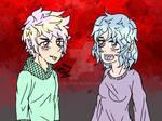 [Pastel Palette Challenge] Vampire Twins - Redraw