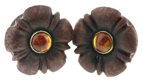 Redwood + Amber Flowers by zerovisual