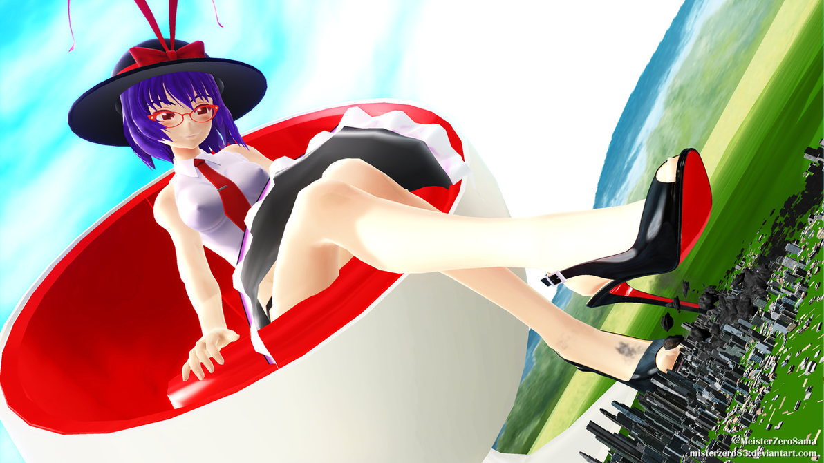 3d mmd iku nagae and her big breasts and ass in bubblepop 7