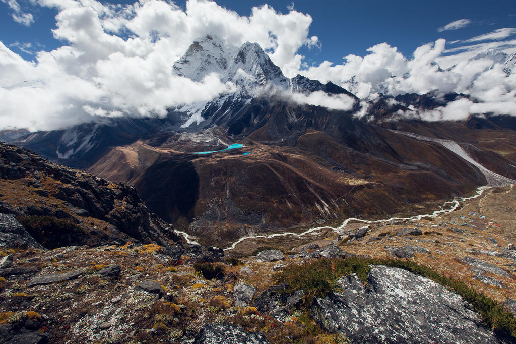 dingboche valley by Katoman