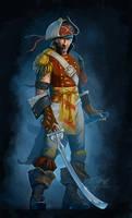 Sword fighter by GuzBoroda