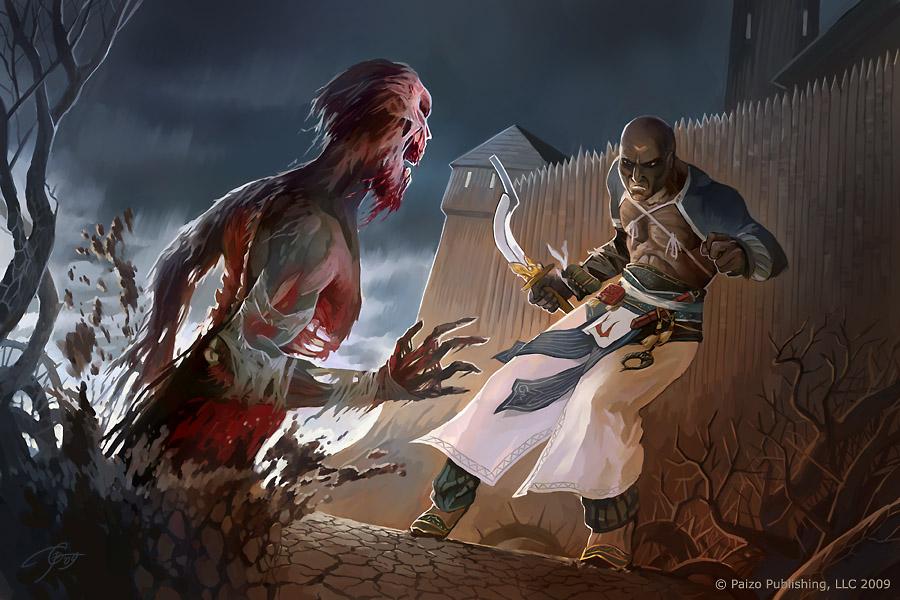 Zombie attack by GuzBoroda