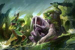 Swamp attack by GuzBoroda