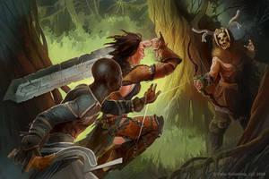 Staglord fight by GuzBoroda