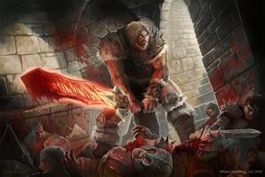Barbarian by GuzBoroda
