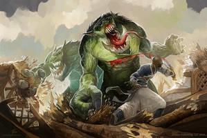 Troll by GuzBoroda
