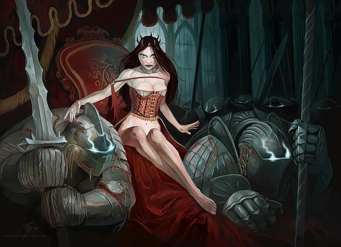 Dark Queen by GuzBoroda