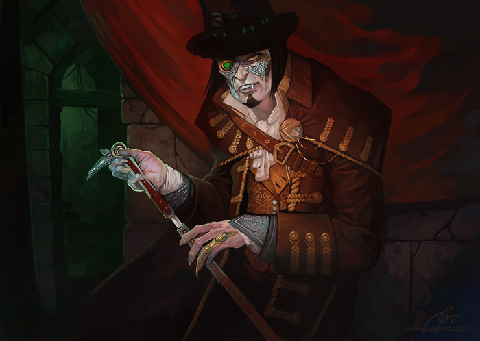 Steel Vampire by GuzBoroda
