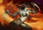 Female Dragon Warrior