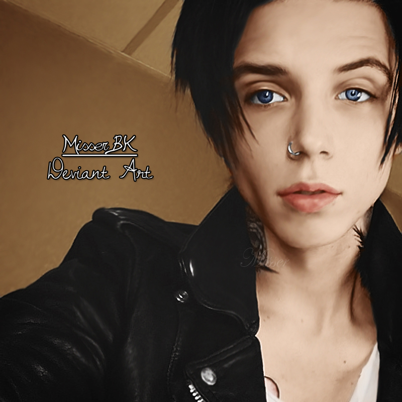 Andy Biersack Colorize 2014- by MisserBK