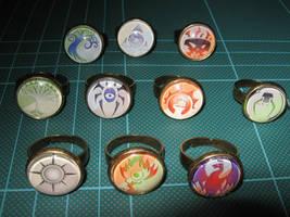 Ravnica Guild Ring Set by Henry-Crun