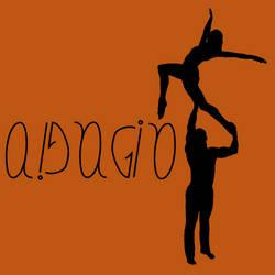 Circus Ambigrams 11: Adagio by Henry-Crun