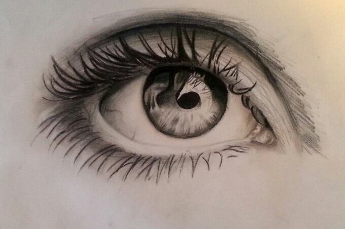 Quick eye drawing by PufferfishCat