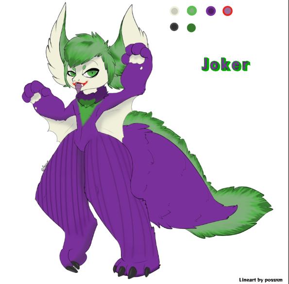 Joker bat adopt by HarleyFur