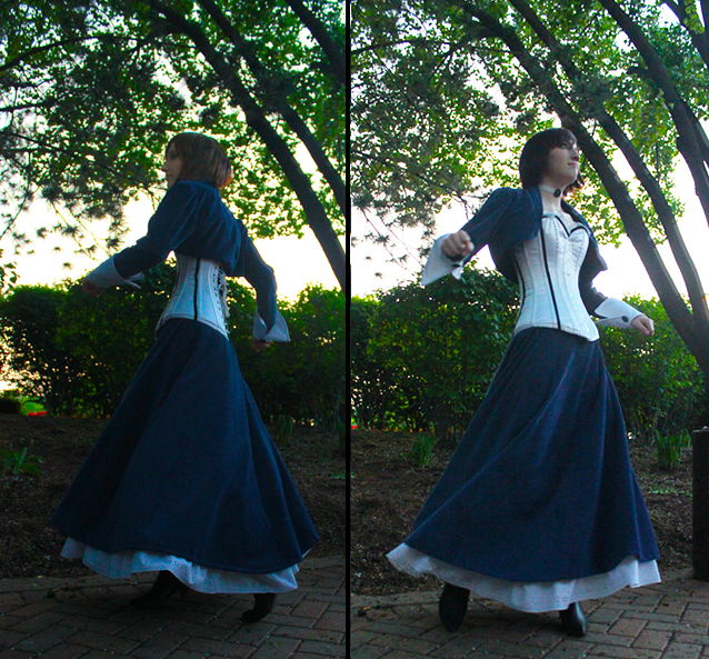Bioshock Infinite: Elizabeth Costume by promadas