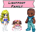Gaian Lightfoot Family by Sonic-Lover9