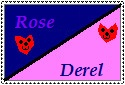 RosexDerel Stamp by Sonic-Lover9
