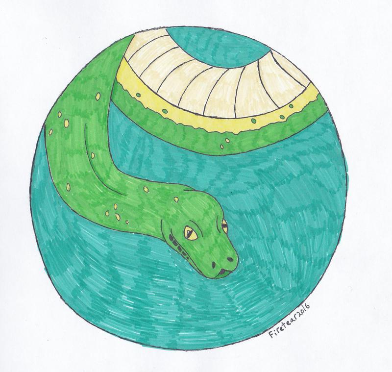 Green Tree Python by Firetear501