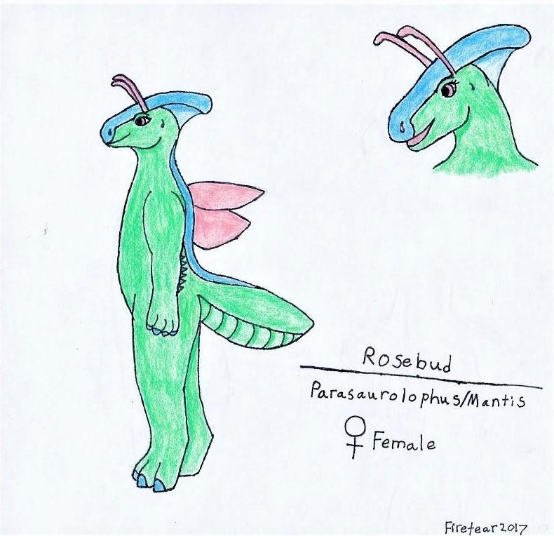 Rosebud Ref Sheet by Firetear501