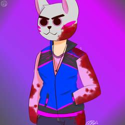 Bloody Bunny by LibitinaLamila