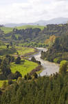 Snaking river