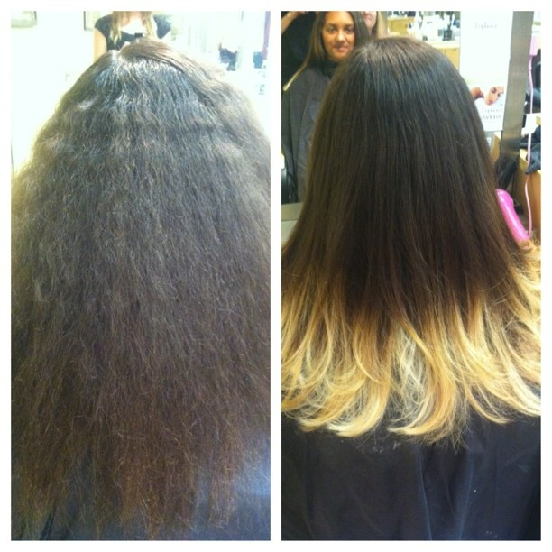 Ombre Hair Blonde Tips Haircuts