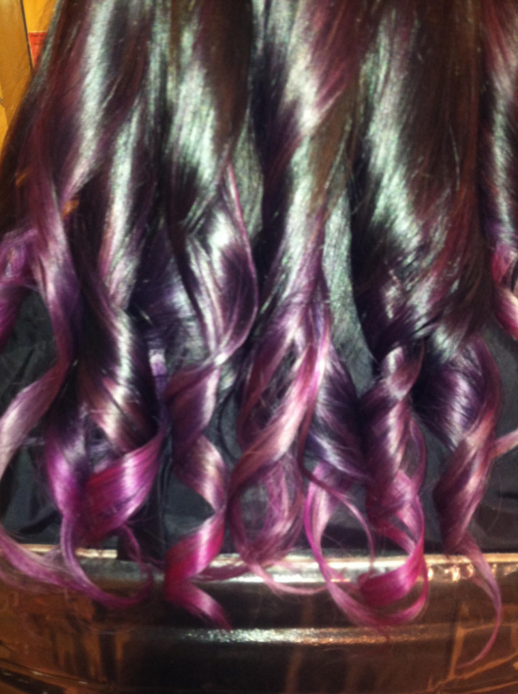 Red Purple Ombre Hair Red and purple ombre hair