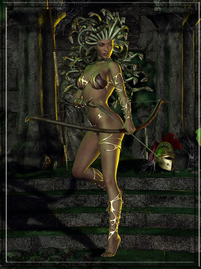 Medusa by Raddar