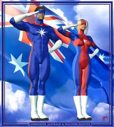 Australia's Power Team by Raddar