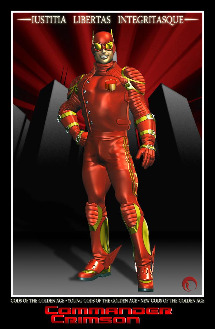 Commander Crimson by Raddar