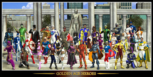 The Golden Age Heroes