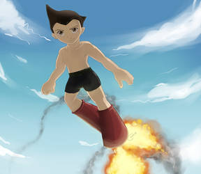 :Astro Boy: by Pookpic