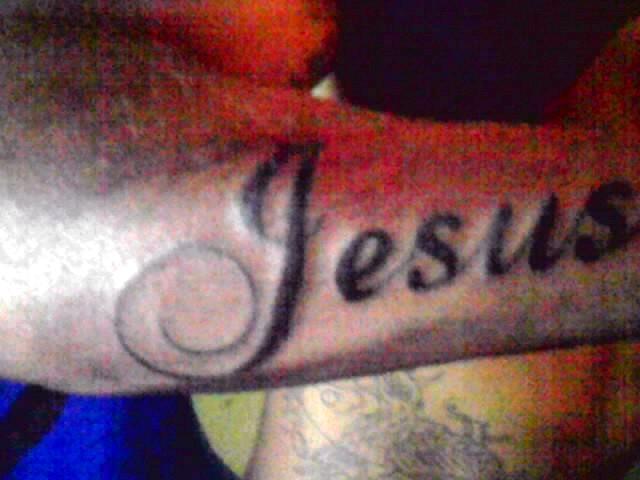 tattoo name jesus by psychopaintrix on deviantart