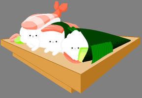 Pomeranian - Sushi