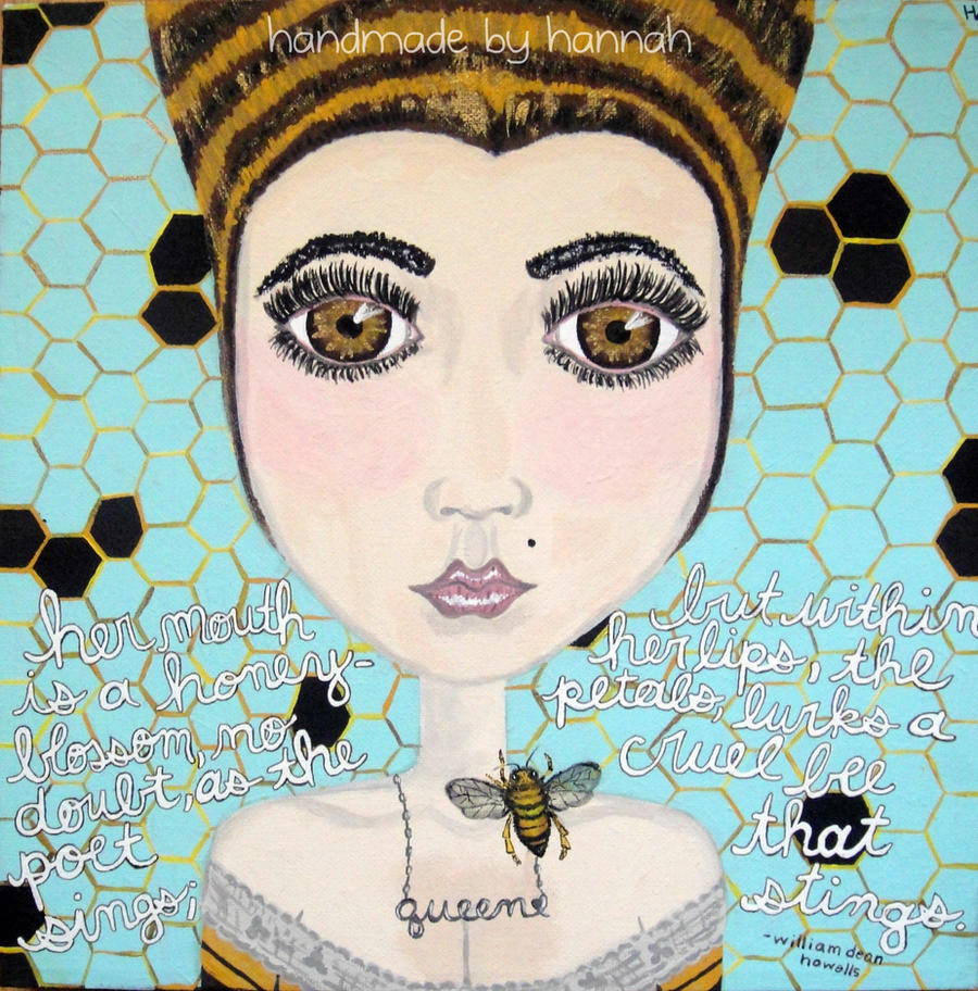 queen bee by handmadebyhannah