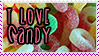 I Love Candy Stamp by SkyChibi
